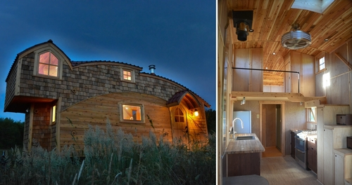 Design stack a blog about art design and architecture - The moon dragon the eco tiny house ...