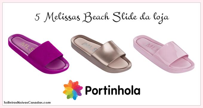 05d406a07 5 Melissas Beach Slide da loja Portinhola