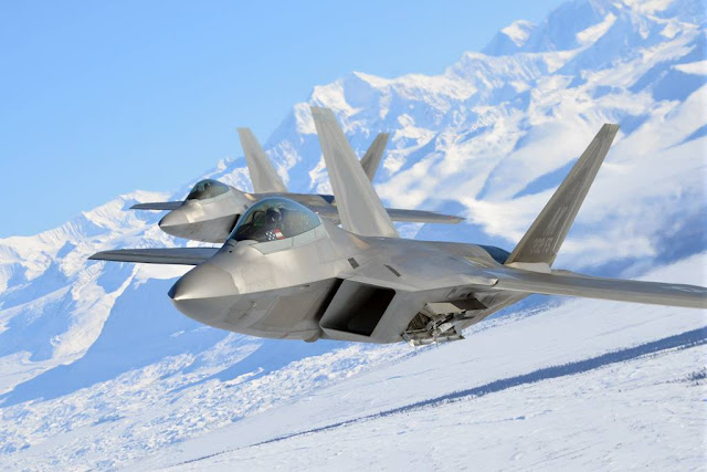NORAD RAPTORS INTERCEPT RUSSIAN BOMBERS NEAR ALASKA