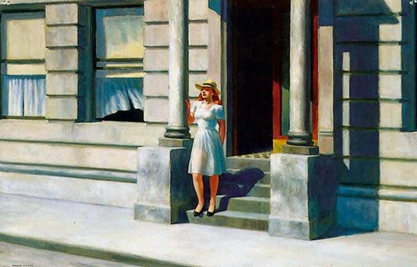 Verão - Edward Hopper e suas principais pinturas ~ O pintor da solidão