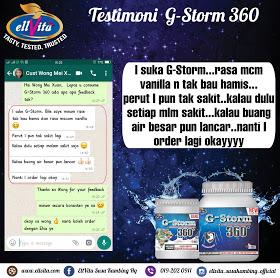 G-Storm 360 Dengan Ramuan Hebat Untuk Keselesaan Perut dan Badan