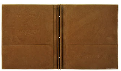 Leather Presentation Binders