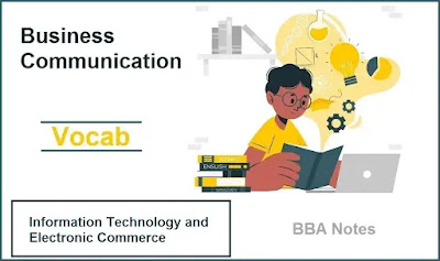 Business Communication │ Important Vocabulary