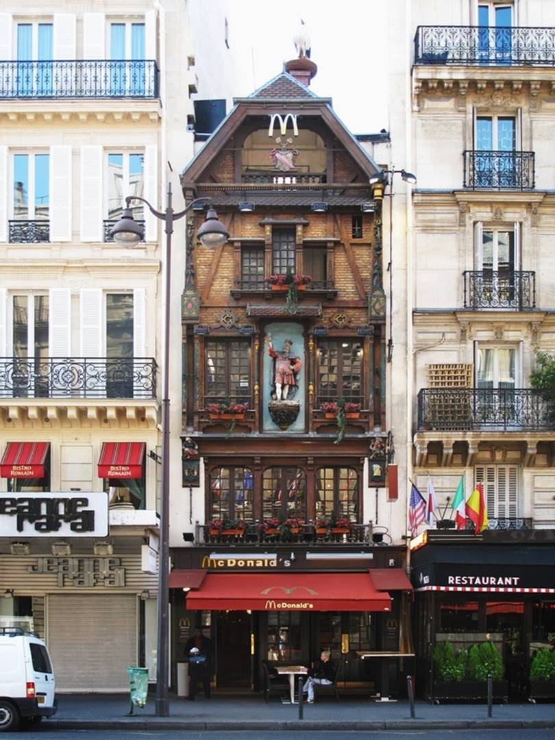 famous mcdonald's restaurants, famous mcdonald's
