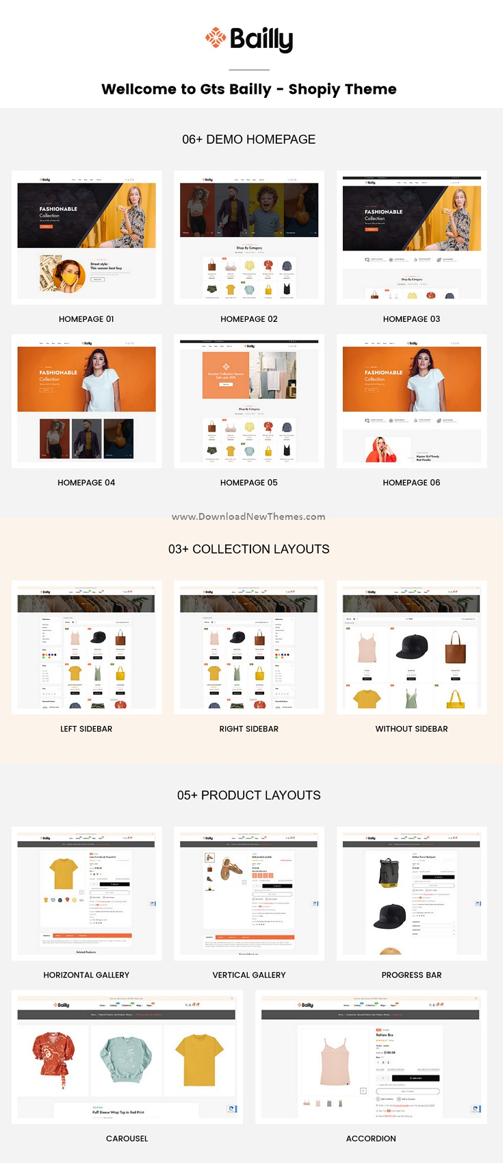 Multipurpose Sections Shopify Theme