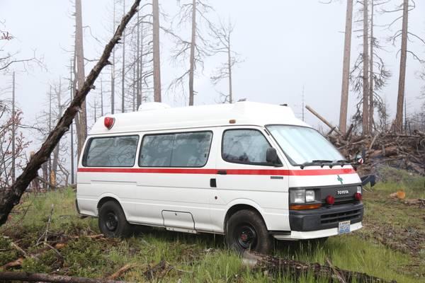 4x4 Diesel Van, 1991 Toyota Hiace For Sale