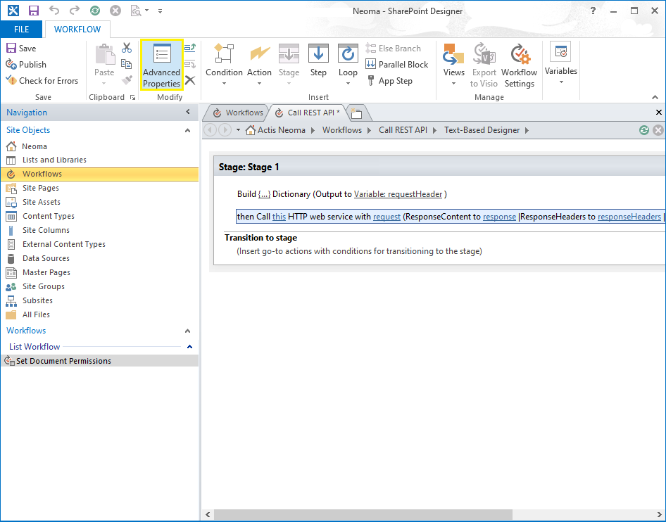 How To Call A Rest Api From Sharepoint Designer Workflow Sharepoint Diary