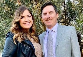 Joel Dahmen With His Wife