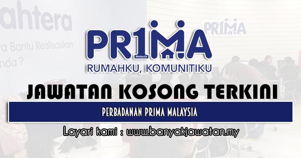 Jawatan Kosong 2021 di Perbadanan Pr1ma Malaysia
