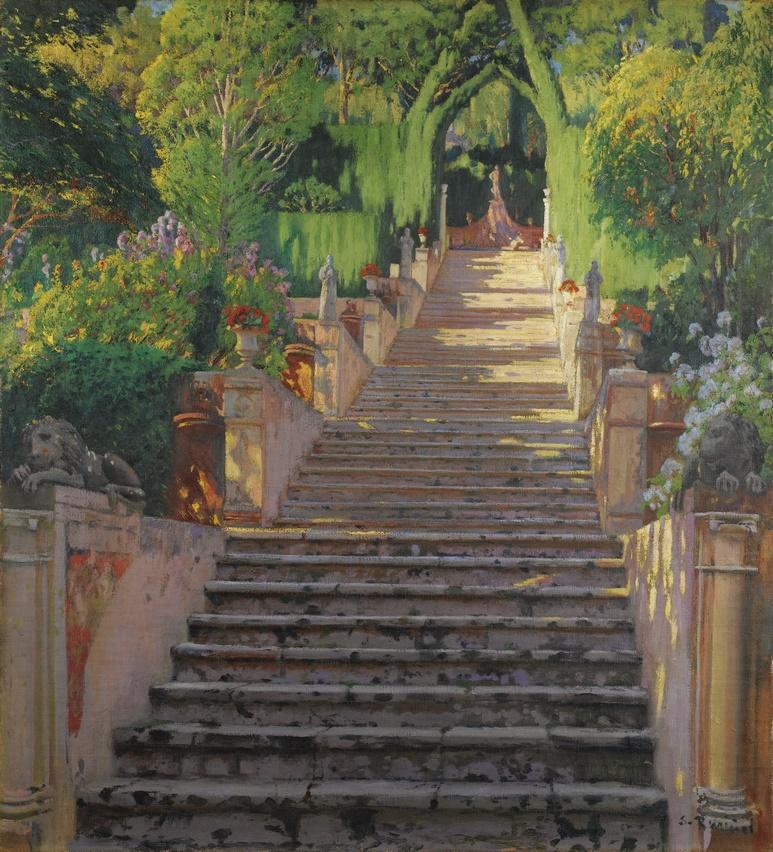 SANTIAGO RUSIÑOL PEDRES VELLES, RAIXA (IV) 1902-1907