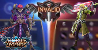Invalid match in the latest mobile legends