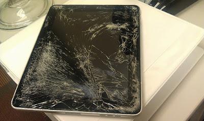 màn hình ipad 2 bị vỡ cần phải thay mới