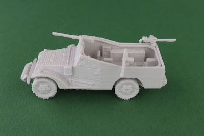 White Scout Car picture 1