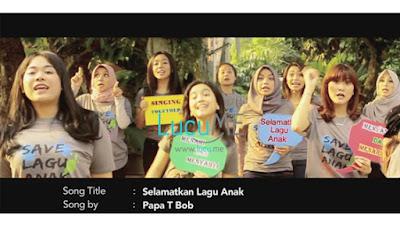 Video Klip 'Save Lagu Anak' Resmi Rilis, Penyanyi Cilik Era 90an Berkumpul