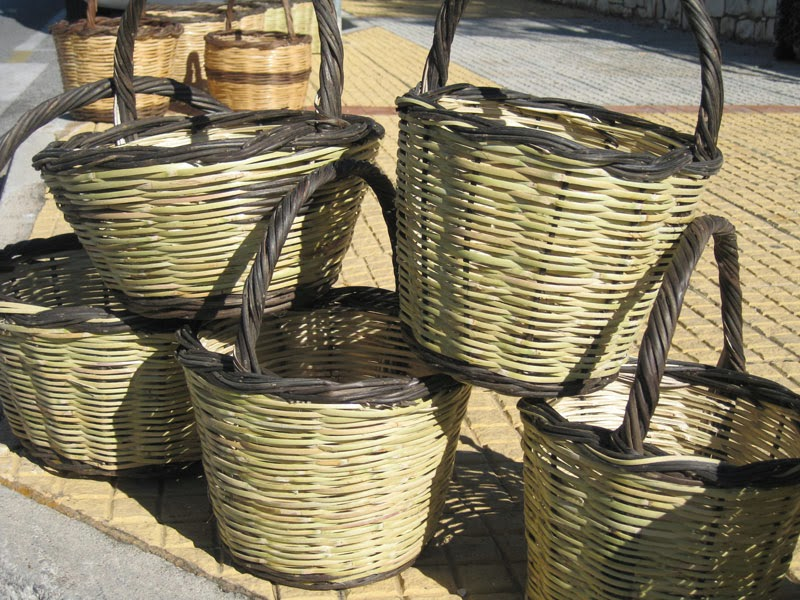 Greek baskets