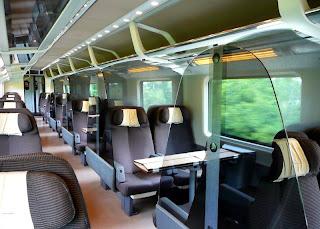Frecciarossa first class seats