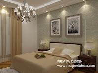 Jasa design kamar tidur utama