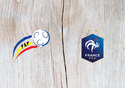 Andorra vs France Full Match & Highlights 11 June 2019