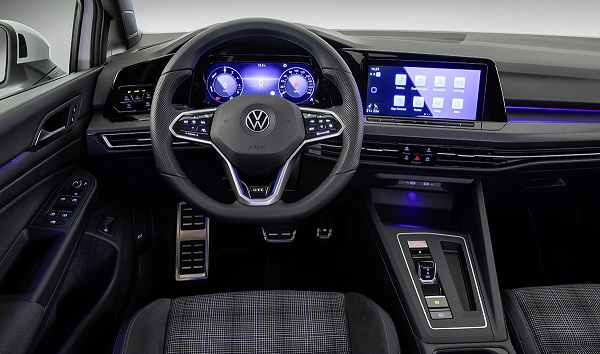 Interior Volkswagen Golf GTE 2020