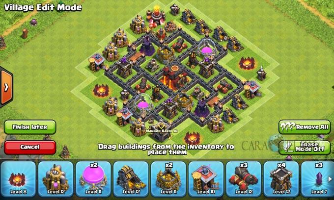 pertahanan terbaik untuk base war th 6 di clash of clans 14