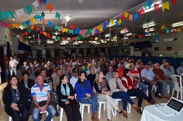 Reunião de Campo 2º Semestre da Coamo em Roncador