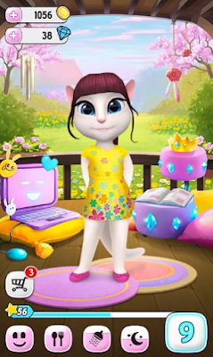 Download My Talking Angela Mod Apk Terbaru Gratis