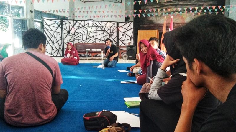 STKIP Muhammadiyah Sidrap Membuka Kelas Menulis pada Festival Sastra