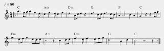 gambar notasi tanda sukat 5/4 pada not balok