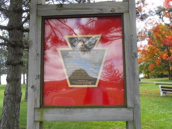 Memorial Lake State Park in Fort Indiantown Gap