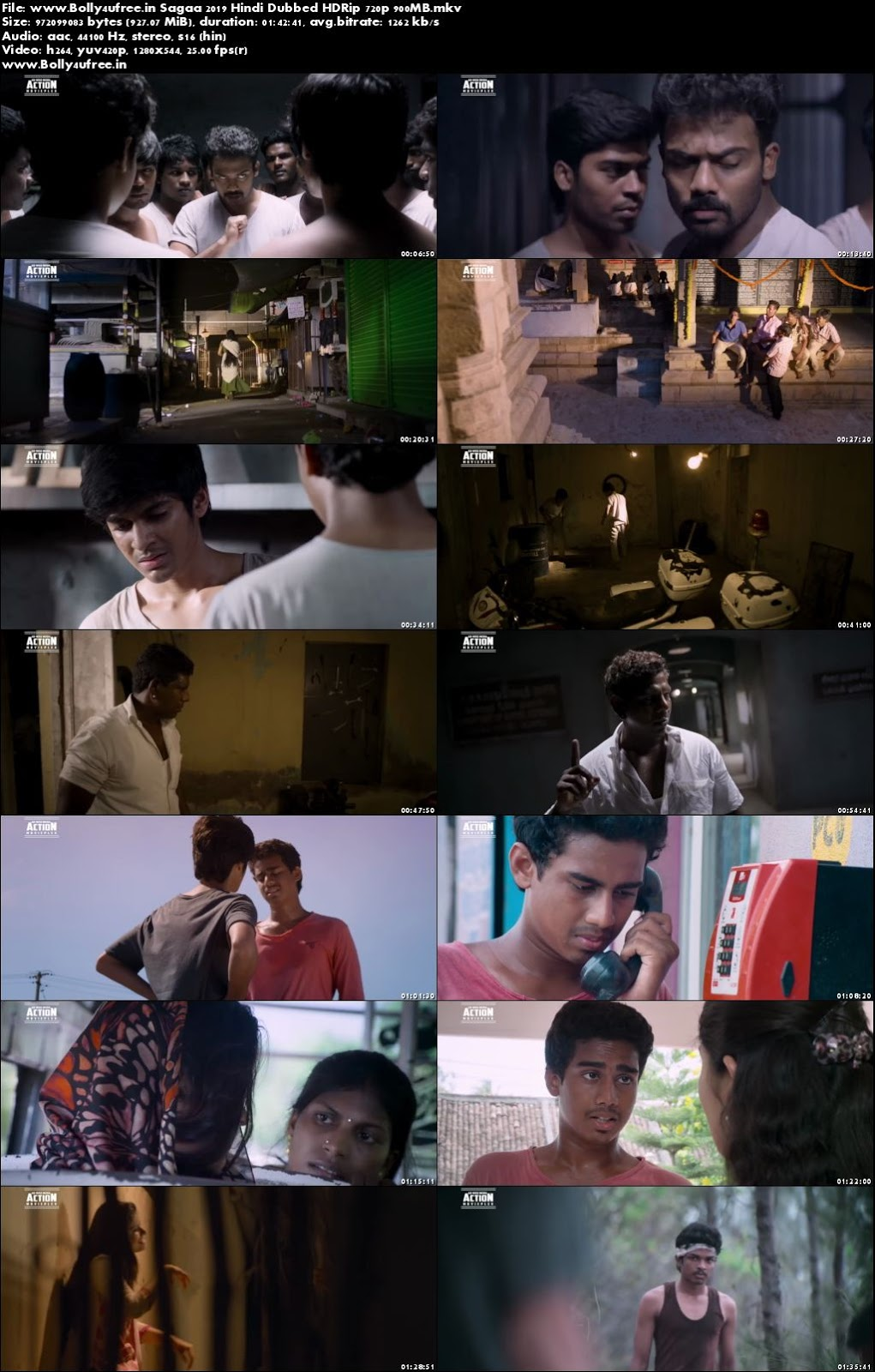 Sagaa 2019 Hindi Dubbed HDRip 480p 300MB Download
