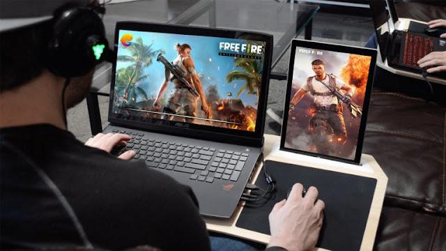 تشغيل لعبة free fire فري فاير على الكمبيوتر أفضل محاكي الالعاب