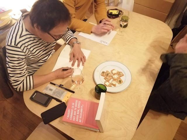 Rencontre et dédicace avec Hisachi Eguchi à Poitiers février 2020