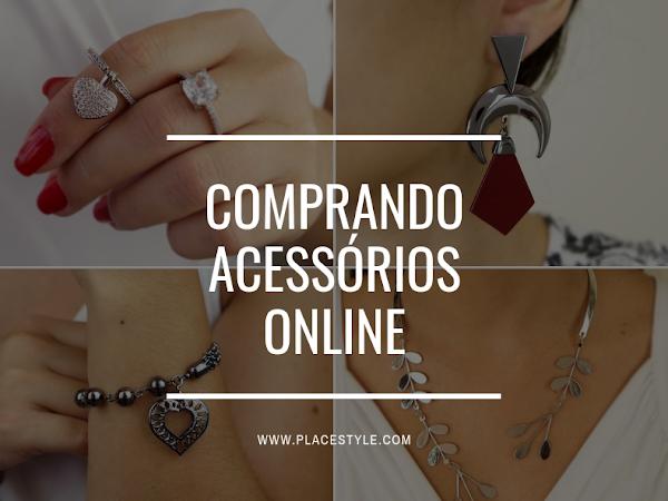 Comprando acessórios online