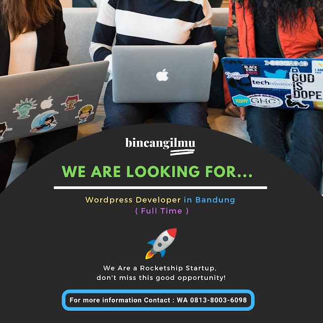 Lowongan kerja Wordpress Developer