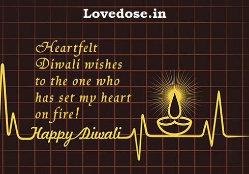 diwali wishes for your cute gf