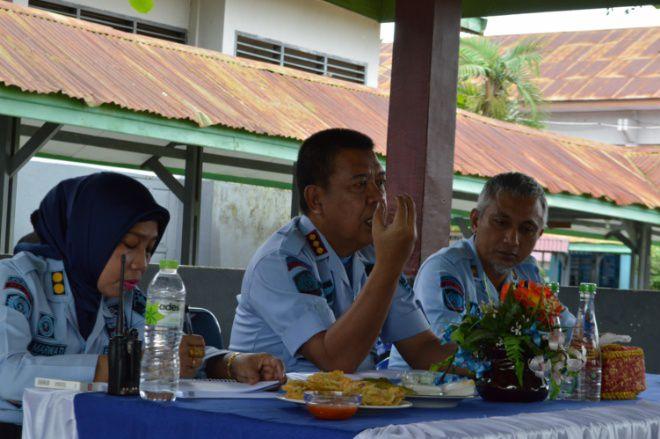 Kalapas Watampone Kumpulkan jajaran Pengamanan Blok Wanita, Ada Apa?