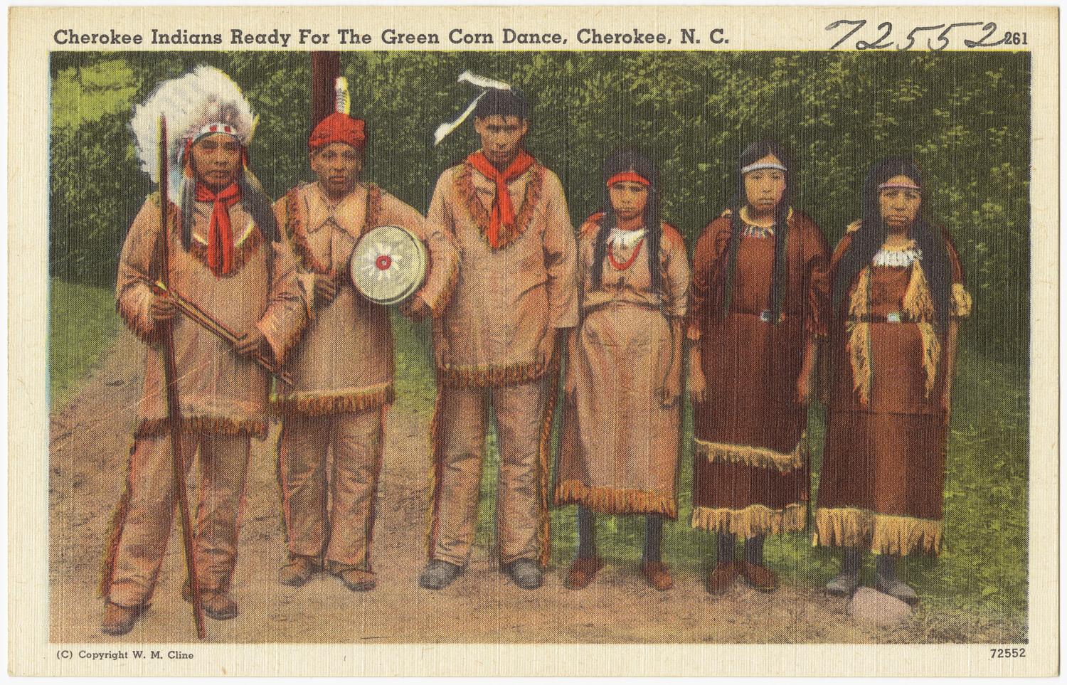 Native American Indian Pictures: Color Images of the Cherokee ...