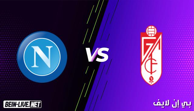 مشاهدة مباراة غرناطة و نابولي بث مباشر اليوم بتاريخ 18-02-2021 في الدوري الاوروبي