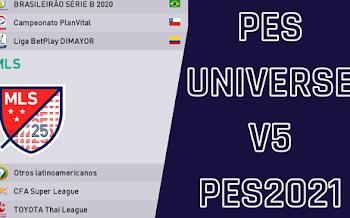 PESUniverse V5 PES2021 (PS4/PC)