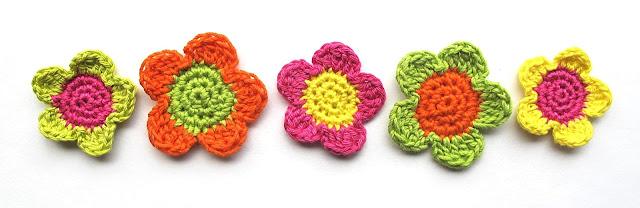 Moois Van Mie Gehaakte Bloemen Patroonverzameling