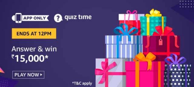 Amazon Quiz Answer 22nd June 2020