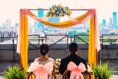 Kiat Menyiapkan Rooftop Sebagai Lokasi Resepsi Pernikahan Terbaik