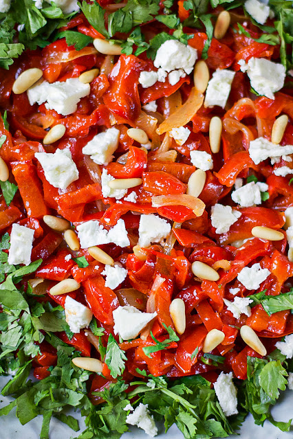 salade poivrons