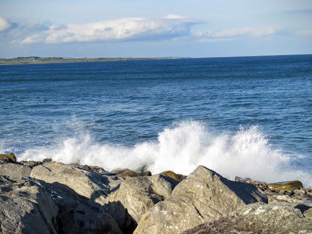 The Wild Atlantic Way in County Sligo, Ireland near Strandhill