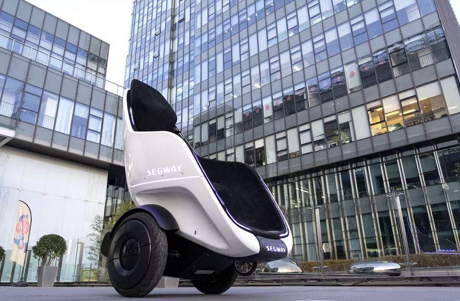 New futuristic Segway looks like Professor X's chair