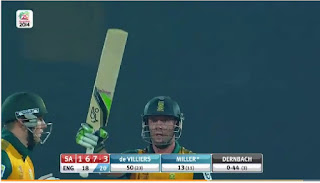 AB de Villiers 69* vs England Highlights