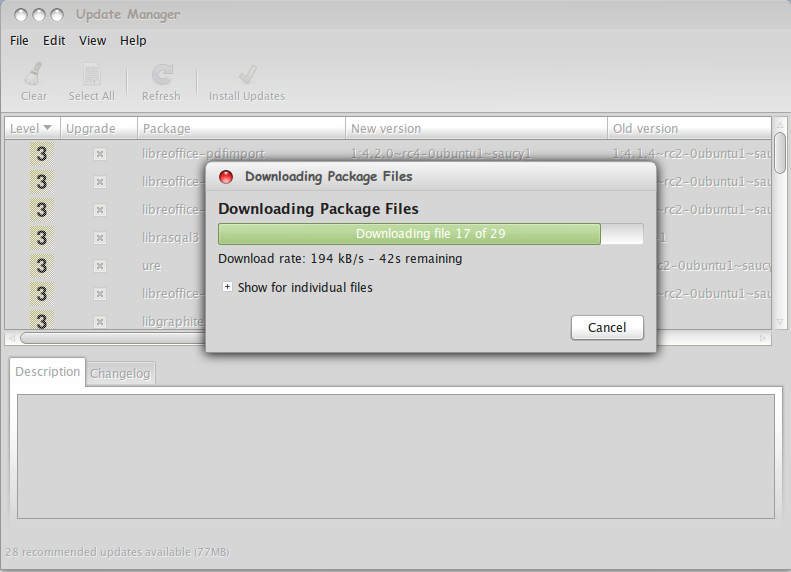 Upgrade Libre Office 4.2.0 Final Melalui Update Manager