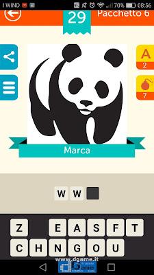 Iconica Italia Pop Logo Quiz soluzione pacchetto 6 livelli 29-100