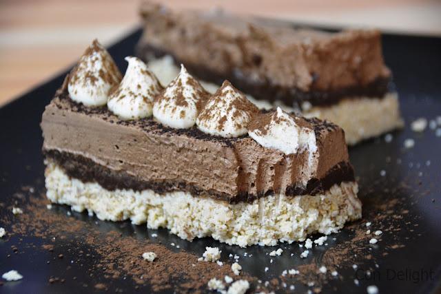 עוגת חיתוכיות ללא אפייה no bake squares cake