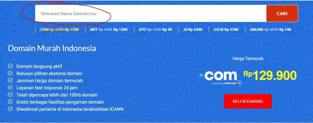 Beli Domain Murah dan Layanan Berkualitas 24 Jam